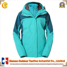 Female 2 in 1 Winter Jacket for Outdoor Sports (JK2109)